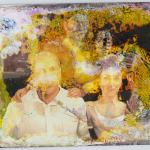 Acid-Stained Portrait of a Family