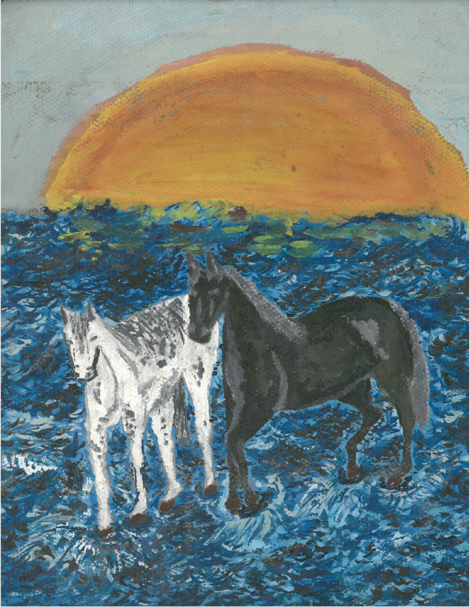 Horses on Water